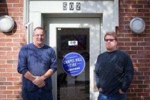 Jim and Jonny of Passport Motors at Chapel Hill Tire