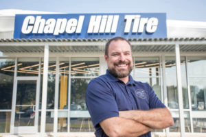 Scott Jones of Chapel Hill Tire