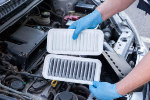 Engine air filter change in Chapel Hill, Raleigh, Durham, and Carrboro